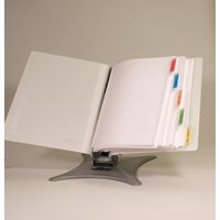 Binder and divider included