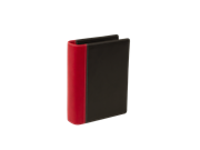 KEBAmeeting Businesscard binder;Red/Black, 1 divider,  20 pockets