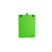 KEBAnote Writepad Vario;A4 Lime w 6 clips and 2 hangers