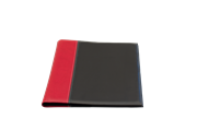 KEBAnote Cover pad A4 Black/Red