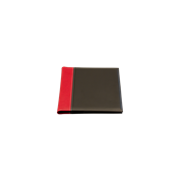 KEBAnote Cover pad A5 Black/Red