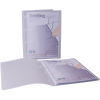 KEBAfolder Softring display book;transp 3x80 incl 10 pockets