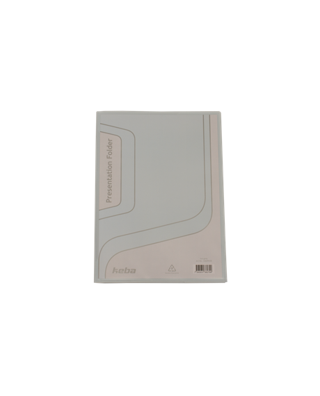 KEBAfolder Presentation Folder;Ice grey