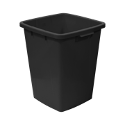 KEBAsort multi-purpose;container 90 l black recycled