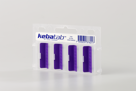KEBAtab Lilac 1 package;Colourcodes 1 binder